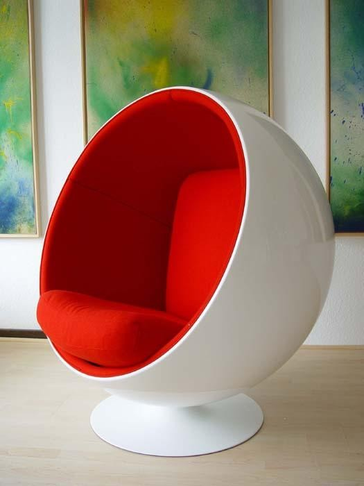 Ball Chair von Eero Aarnio 1966