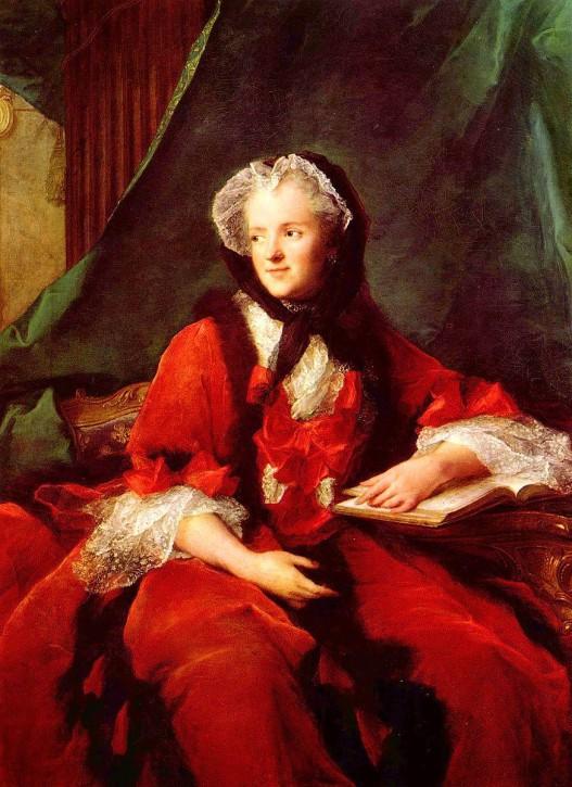 Jean Marc Nattier Die Königin Maria Leczinska 1748