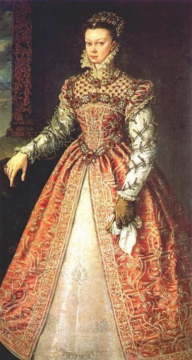 Alonso Sánchez Coello Isabel de Valois