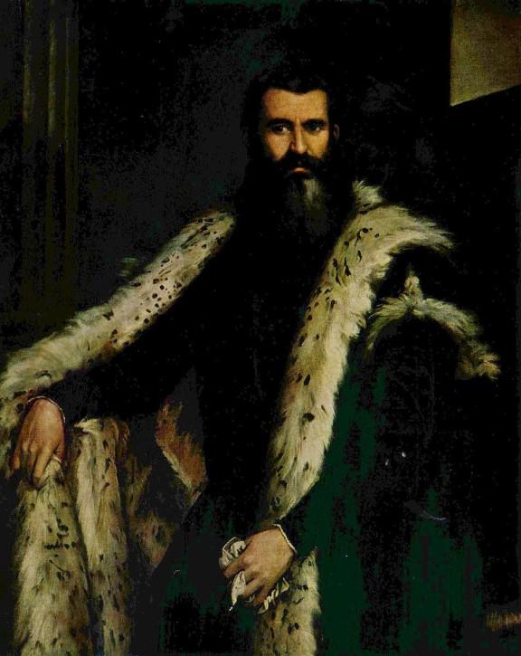 Paolo Veronese  Portraet des Daniele Barbaro