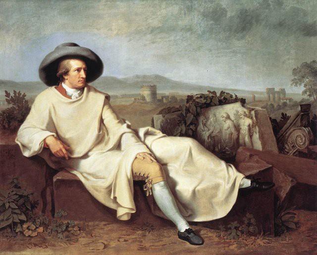 Johann Wilhelm Tischbein, Goethe in der Campagna 1787