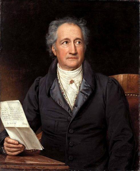 Joseph Karl Stieler, Johann Wolfgang Goethe 1828