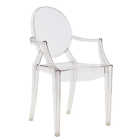 Louis Ghost by Philippe Starck 2002