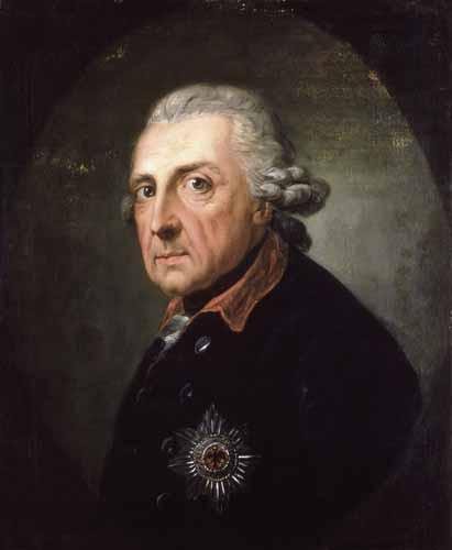 Anton Graff, Friedrich der Grosse um 1770