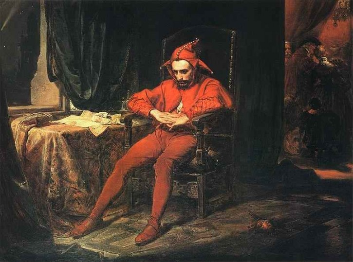 Jan Matejko,  Der Narr Stanczyk  1862