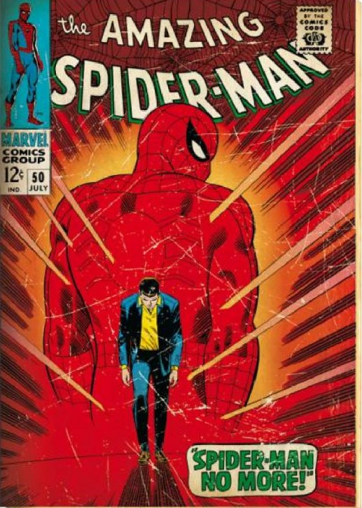 Spiderman retro cover Comic