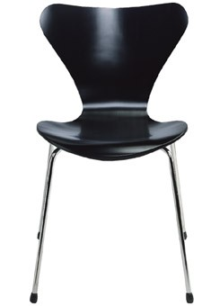 Stuhl Nr. 3107 by Arne Jacobsen