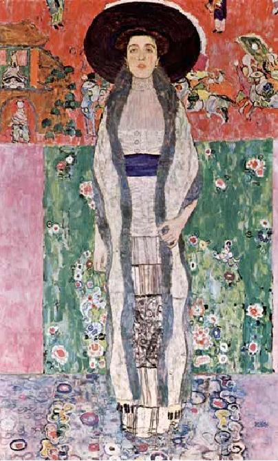 Gustav Klimt Adele Bloch Bauer II  Jugendstil 1912