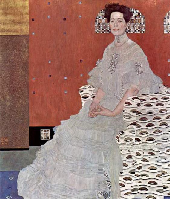 Gustav Klimt Portraet Fritza Riedler