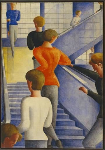 Oskar Schlemmer Bauhaustreppe 1932