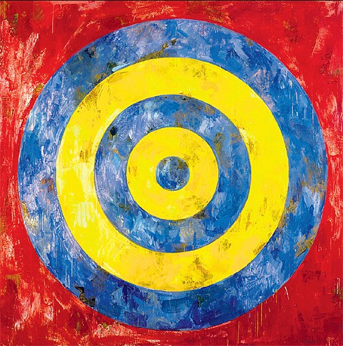 Jasper Johns Target 1961