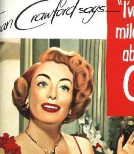 James Rosenquist Joan Crawford says 1964