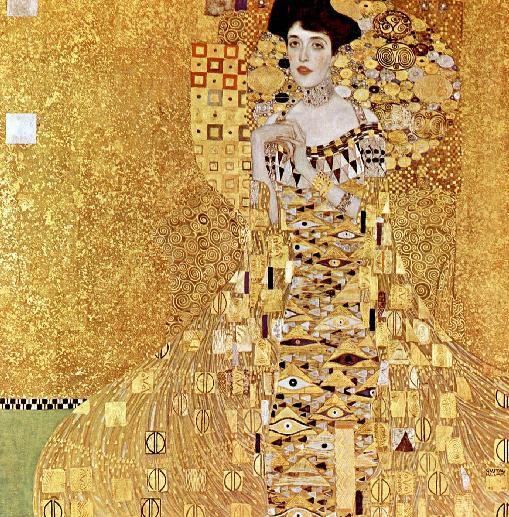 Gustav Klimt Adele Bloch Bauer Jugendstil 1907