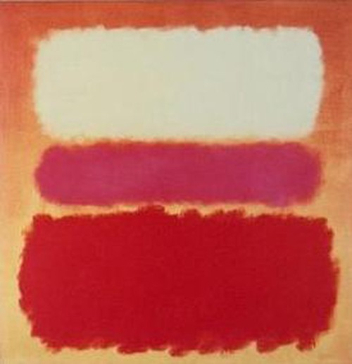 Mark Rothko White Cloud over Purple 1963
