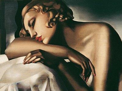 Tamara de Lempicka La Dormeuse 1927