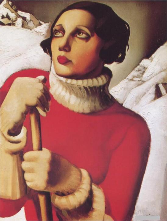 Tamara de Lempicka St.Moritz 1929