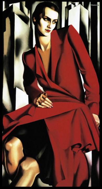 Tamara de Lempicka Portrait der Mrs. Bush 1929