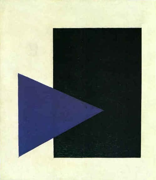 Kasimir Malewitsch  Blue Triangle 1915