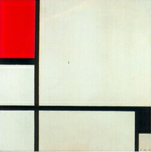 Piet Mondrian Composition 1929