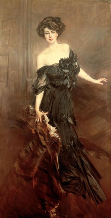 Giovanni Boldini La Mademoiselle de Nemidoff 1908