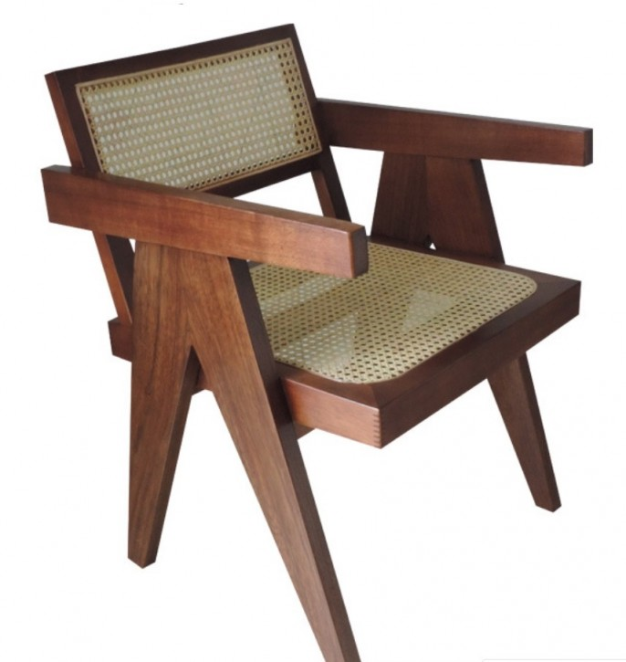 Chandigarh Chair by Pierre Jeanneret 1955