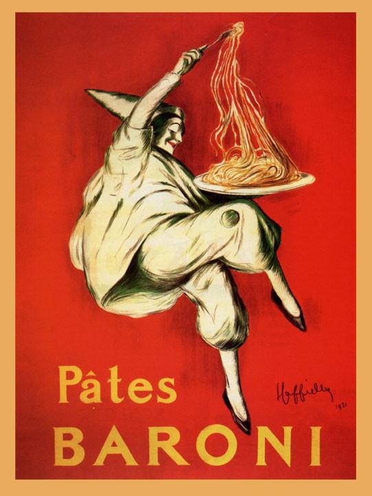 Pâtes Baroni by Leonetto Cappiello 1921