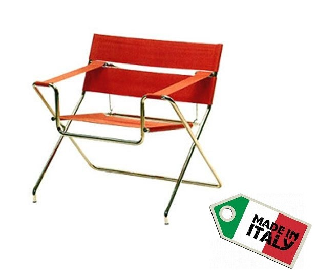 Club Folding Chair D4 by Marcel Breuer 1926 Klappstuhl