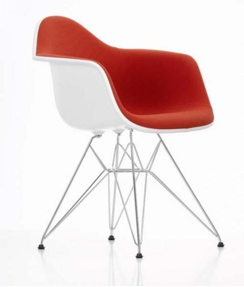 DAR Armchair gepolstert by Charles Eames 1950
