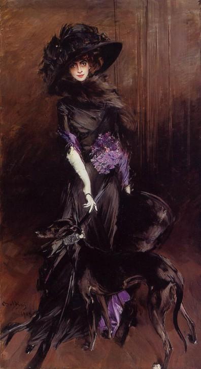 Giovanni Boldini La Marchesa Luisa Casati  1887