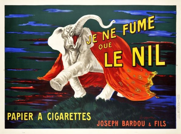 Le Nil Cigarettes by Leonetto Cappiello 1912