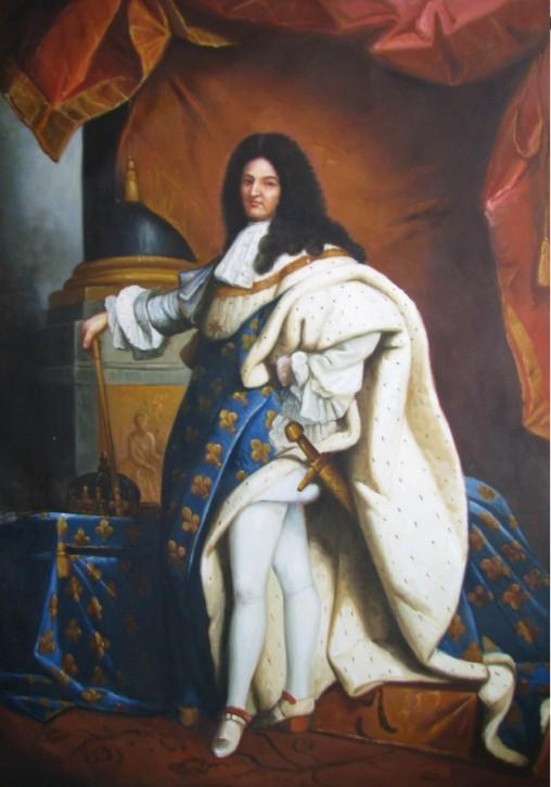Hyacinthe Rigaud , König Ludwig XIV , 1701