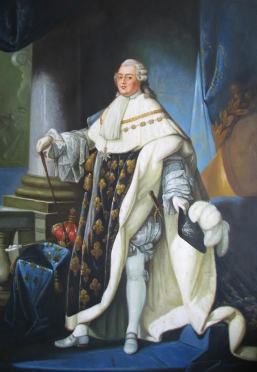 Antoine-François Callet , König Ludwig XVI , 1779