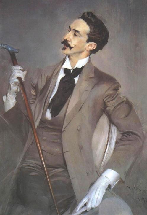 Giovanni Boldini Robert de Montesquiou 1897