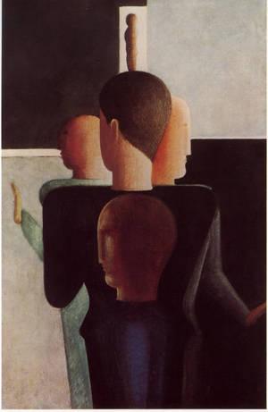 Oskar Schlemmer Konzentrische Figuren 1928
