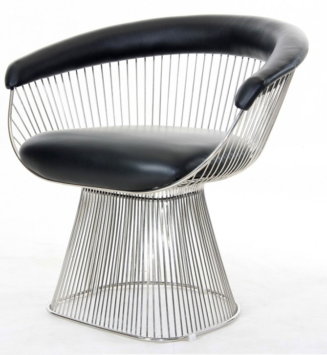 Platner Chair Armlehnstuhl by Warren Platner 1965