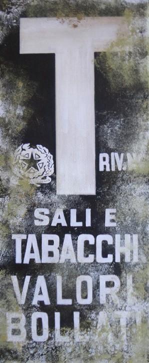 Sale e Tabacchi Vintage Plakat