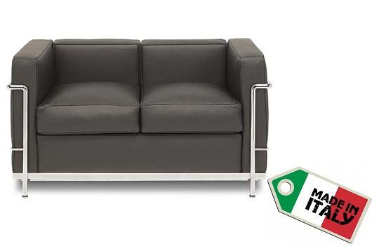 Sofa Zweisitzer LC2 by Le Corbusier