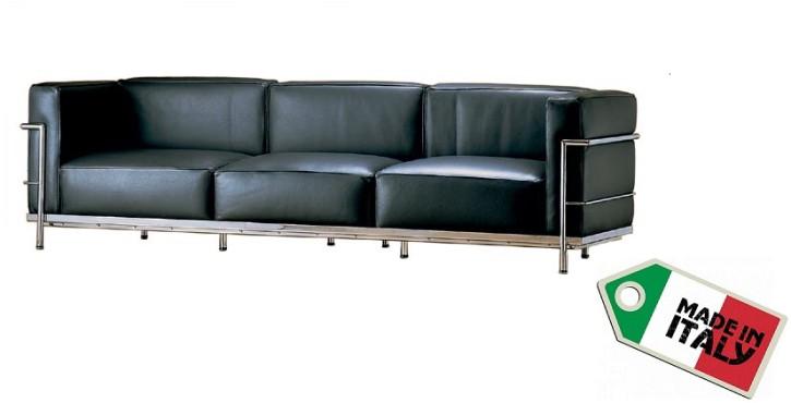 Sofa 3 sitzer LC3 by Le Corbusier 1928