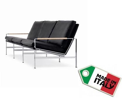 Sofa FK6720 - Dreisitzer by Fabricius & Kastholm 1965
