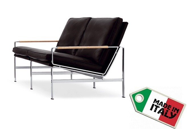 Sofa FK6720 - Zweisitzer by Fabricius & Kastholm 1965