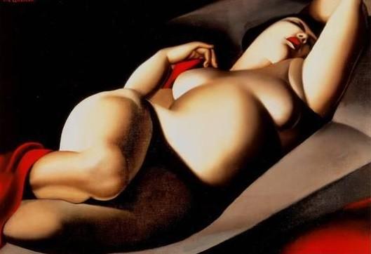 Tamara de Lempicka La Belle Rafaela 1925