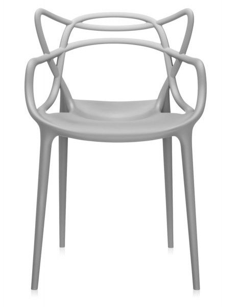 Masters Stuhl Chair by Philippe Starck 2010 (Polypropylen grau)