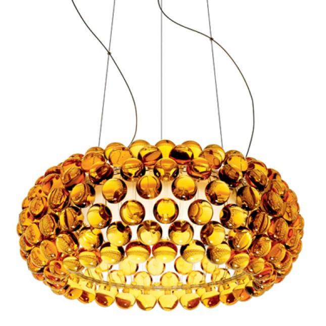 Pendelleuchte Caboche Gold by Patricia Urquiola 2005