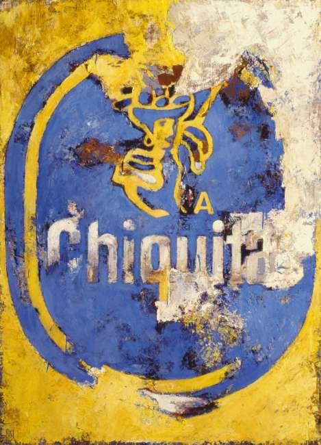 Chiquita Banana Vintage Plakat