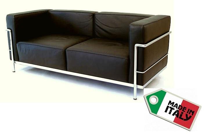 Sofa 2 sitzer LC3 by Le Corbusier 1928