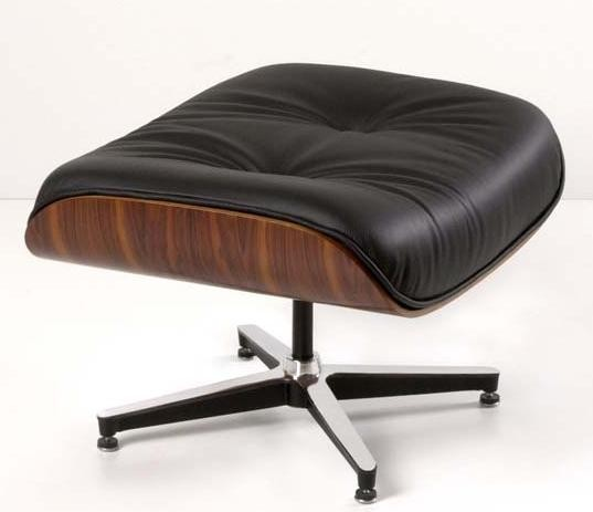 Ottomane zum Lounge Chair by Charles Eames 1956