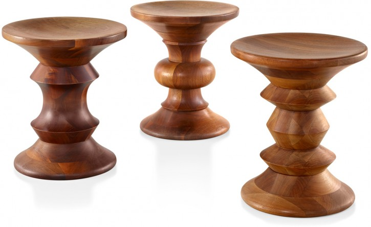 Walnut Stool  by Charles Eames 1960