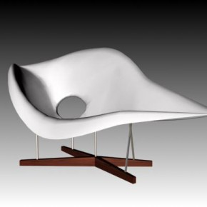 La Chaise by Charles Eames 1948