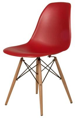 DSW Plasticchair Sidechair by Charles Eames 1950 (Polypropylen weiß)