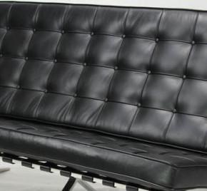 Sofa 3 Sitzer Barcelona by Ludwig Mies van der Rohe 1929